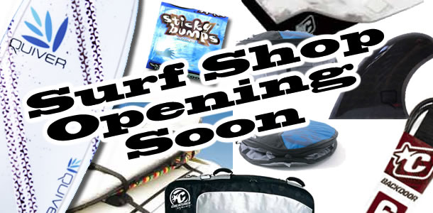 Online Surf Shop opening soon